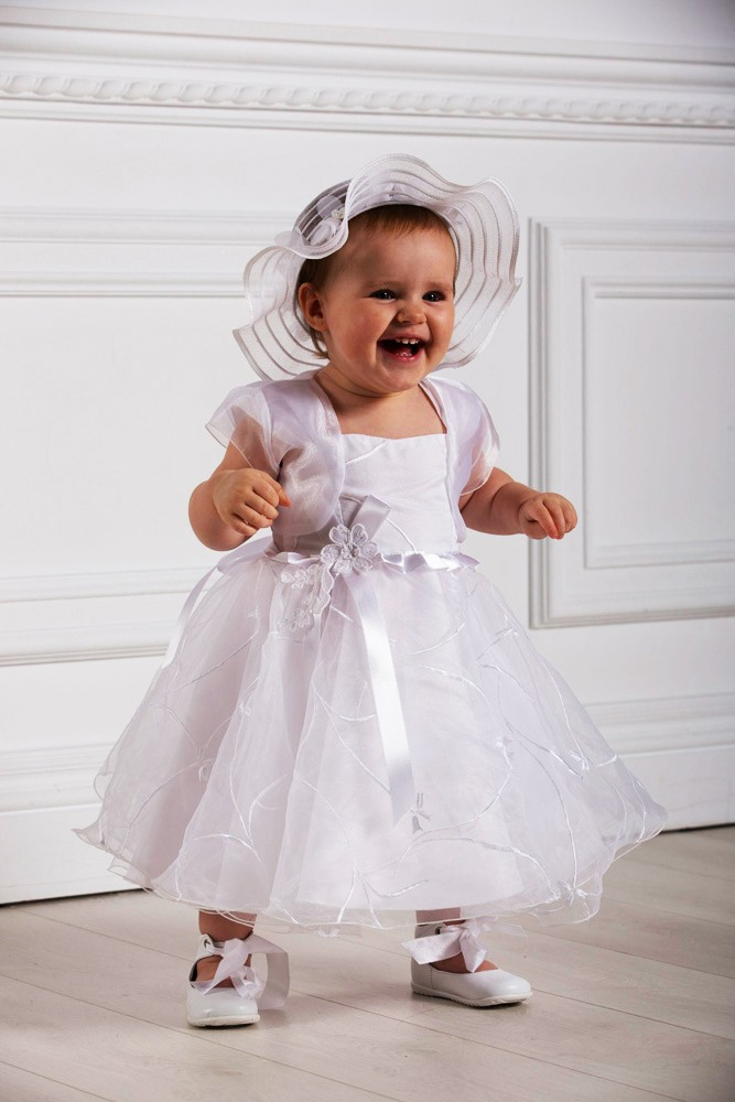 Robe de ceremonie bapteme fille