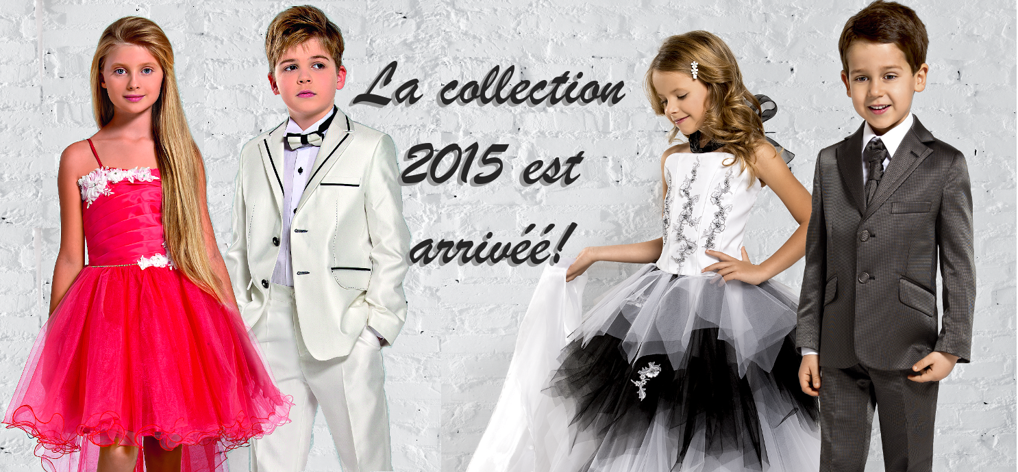 Collection 2015 robe de cérémonie